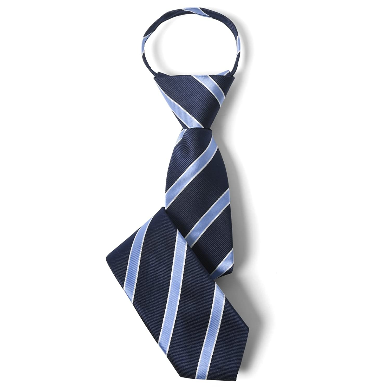 [エムエイチエー] M.H.A.style ネクタイ 子供用 ワンタッチ (簡単装着) 男の子 キッズ ジュニア [ 全8色 ] ストライプ 卒業式 30305