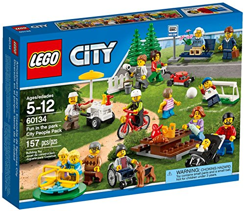 LEGO city Set Costruzioni Divertimento al Parco, People, Multicolore, 60134