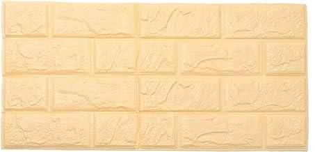 Papel de parede autoadesivo 3D padrão de tijolos para quarto, sala de estar, fundo de parede moderno para decoração de TV...