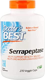 Best Serrapeptase 40,000 Units 270 VCaps Doctor's Best