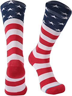 Novelty Cool Crazy Gift Socks, Gmark Unisex Colorful Cartoon Cotton Socks 1-6 Pairs