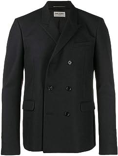 SAINT LAURENT Luxury Fashion Mens 587475Y221W1000 Black Jacket | Season Outlet