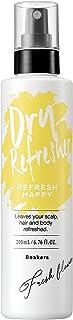 [Amazon限定ブランド] Beakers ドライリフレッシャー ドライシャンプー 全身用 【 簡単 水のいらないシャンプー 】フレッシュフラワーの香り 女性 男性 メンズ レディース 介護 200mL