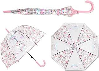 Kids Umbrella Unicorn Transparent Umbrellas Children Laser Umbrella Cute Cartoon Alpaca Girl Umbrellas