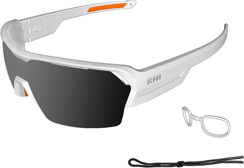 OCEAN SUNGLASSES 3800.2x Brille Sonnenbrille Unisex Erwachsene, Wei