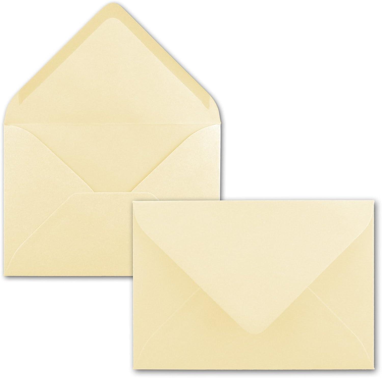 Brief-Umschläge in Vanille   150 150 150 Stück   DIN C5 KuGrüns 220 x 154 mm - Nassklebung ohne Fenster - Weihnachten, Grußkarten   Serie FarbenFroh® B07BQQM3ZG | Lebendige Form  | Creative  | Online  9bdb49