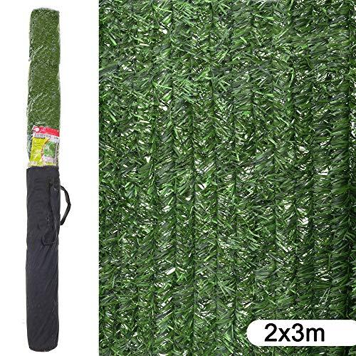 Ldk Garden Seto Artificial de ocultación para jardín de plástico Verde 3...