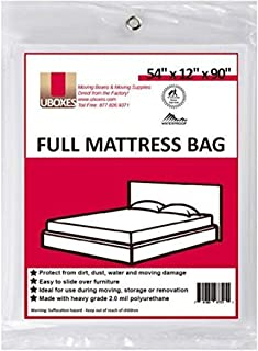 Moving Supplies (1 Pack) Full Size Mattress Bag 140cm x 30cm x 230cm mattress covers
