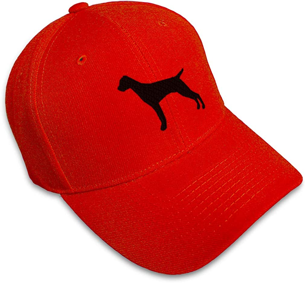 Baseball 70% OFF Outlet Cap Vizsla Silhouette Embroidery Ranking TOP20 Dogs Pets Animal Hats