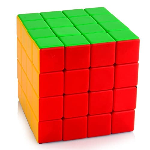 Emob Cube High Speed Sticker-Less Problem Solving Cubes (4x4x4)