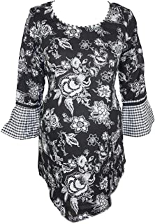 M4M Fashion Maternity Blouse For Women - Black - small