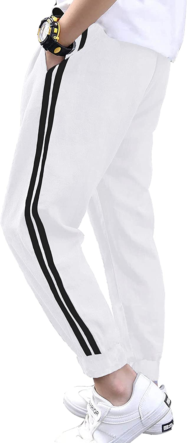 Boyoo Boys Basic Popular products Sweatpants Limited time trial price Youth Athletic Pants Training Tricot