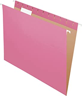 pink file crate