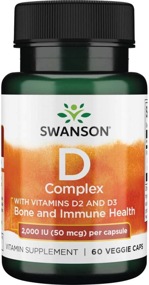 Finally popular brand Swanson Vitamin D Complex Albuquerque Mall with Vitamins D-2 Vitam Sunshine D-3
