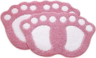 Carpet Doormat Door Hallway Corridor Groove Polyester Non-Stick Design Non-Slip Waterproof Pad, Two Sizes, Six Colors Optiona
