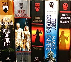 """Books 5-9 of the Sword of Truth Series: """"Soul of the Fire,"""" """"Faith of the Fallen,"""" """"Chainfire,"""" """"Naked Empire,"""" """"Phantom."""""""