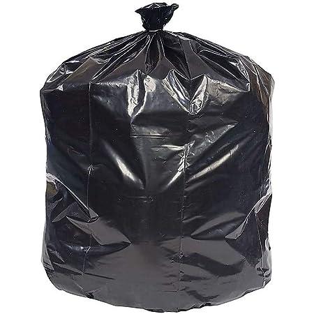 Brighton 814875 Trash Bags 20 30 Gallon 30x36 Low Density 0 45 Mil Black 250 Ct Kitchen Dining