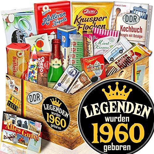 Legenden 1960 - 1960 Geschenk Geburtstag - Kultset DDR Süßigkeiten