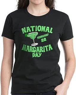 CafePress National Margarita Day Womens Cotton T-Shirt