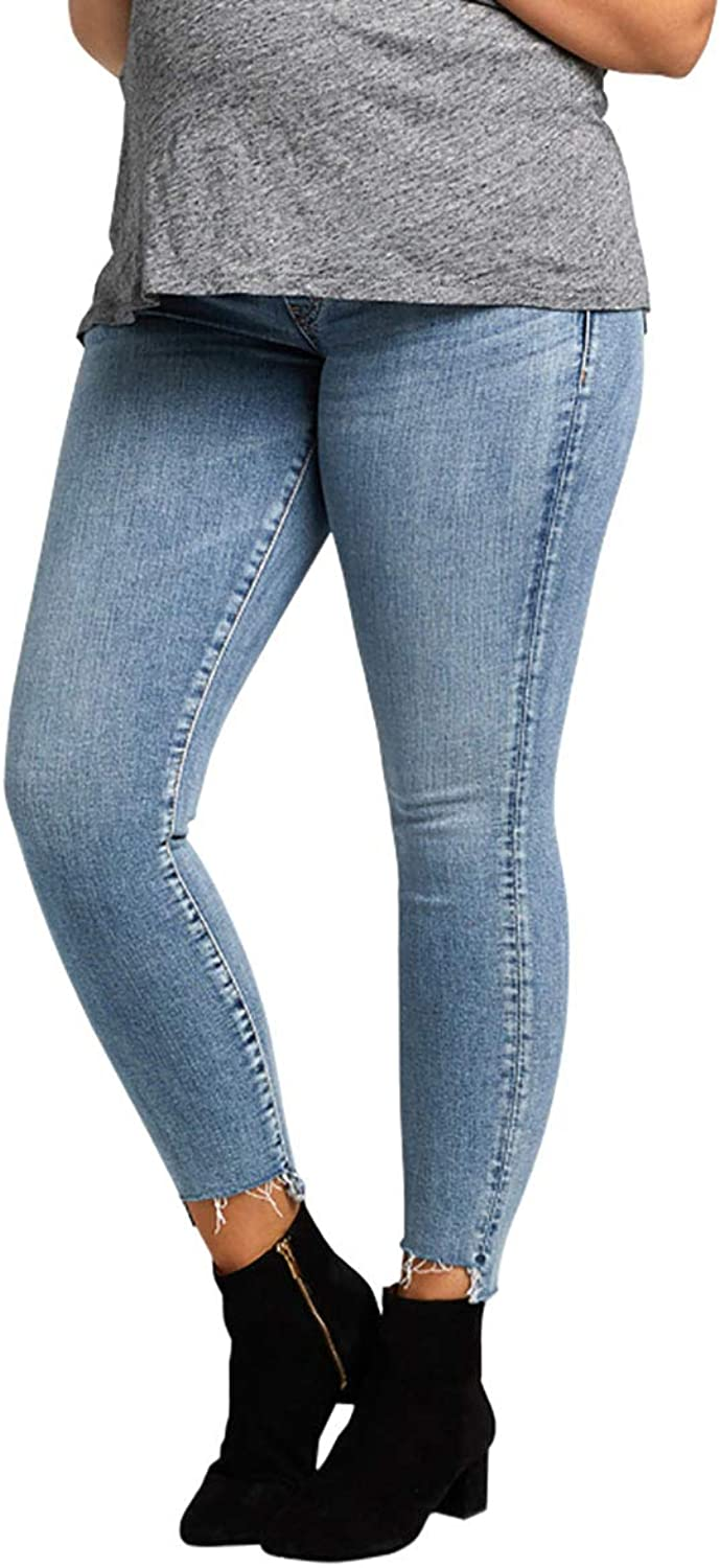 Silver Jeans Co. Aiko Ankle Skinny Maternity Jeans