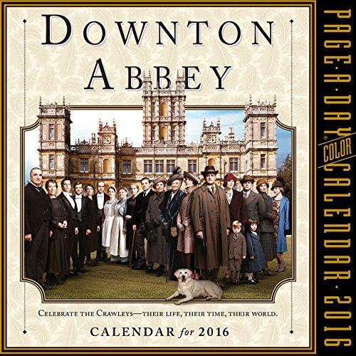 Downton Abbey Color Page-A-Day Calendar 2016