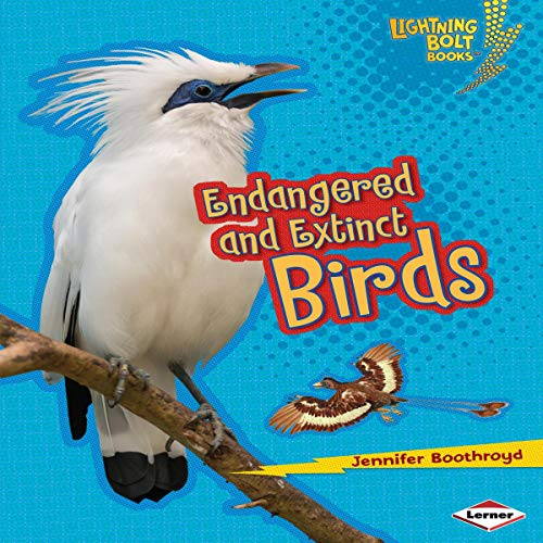 Endangered and Extinct Birds cover art