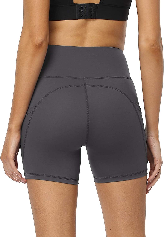 Same day shipping VIISHOW Women's Naked Feeling Fashion Biker Workout Athletic Shorts Yoga