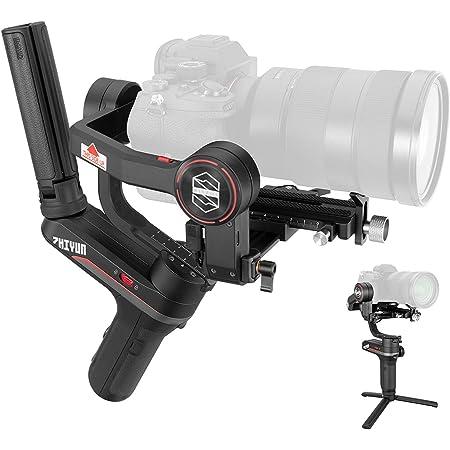Zhiyun WEEBILL S Gimbal Stabilizer for DSLR & Mirrorless Camera Sony A7R3 A7M3 Canon 5D4 EOS R Nikon Z6 Z7 D850 Panasonic GH5 BMPCC 4K Fujifilm Sigma,3-Axis-Zhiyun-Weebill-S(Standard Package)