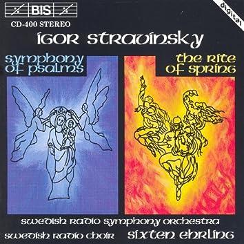 Stravinsky: Symphony of Psalms / The Rite of Spring