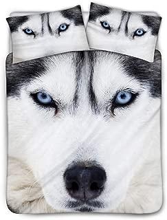 siberian husky comforter set