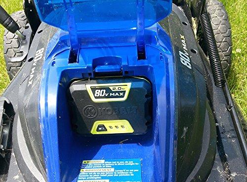 Kobalt 80-Volt Lithium Ion (Li-ion) Cordless Power Equipment Battery