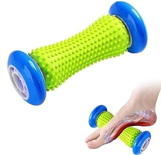Foot Massage Roller Yoga Massage Stick for Plantar Fasciitis Heel Foot Arch Pain Massager Relief Reflexology Massager for ...