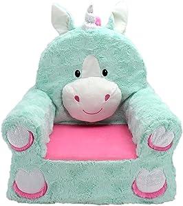 Animal Adventure Sweet Seats Plush Chair - Unicorn