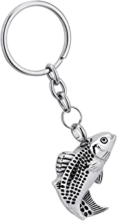 Cremation Urn Keychain for Ashes Memorial Ash Keepsake Cremation Jewelry Key Ring Stainless Steel