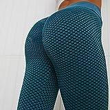 ANTINXUP Leggings TikTok famosos para mujer, de panal de abeja, anticelulitis, pantalones de yoga de cintura alta, con textura de burbujas, scrunch/fruncido, levantamiento de glúteos