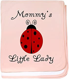 CafePress - Mommy's Little Lady - Ladybug - Baby Blanket, Super Soft Newborn Swaddle