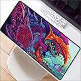 WHFDSBD9040Cm Large Gaming Lock Edge Speed Mouse Pad Mat Hyper Beast AWP Gamer Big Desk Mousepad