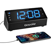 Sawake Digital Alarm and FM Radio with 1.4 LED Digital Display