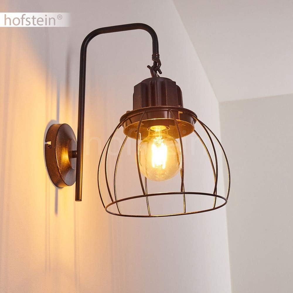 Deckenleuchte Baripada, Deckenlampe aus Metall in Schwarz, 4-flammig, 4 x E14-Fassung max. 40 Watt, verstellbarer Spot im Retro/Vintage Design in Gitter-Optik m. Lichteffekt an der Decke, LED geeignet Skast 1-spot