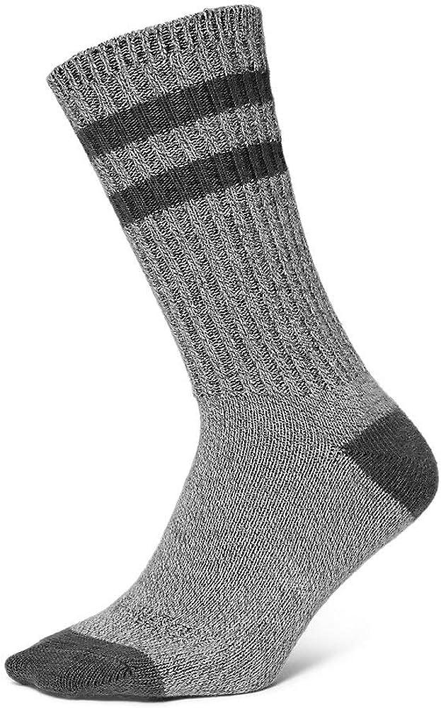 Eddie Bauer Men's Cotton-Blend Ragg Crew Socks