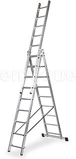 ALTIPESA Escalera Profesional de Aluminio Triple Tijera un