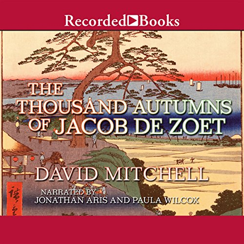The Thousand Autumns of Jacob de Zoet audiobook cover art