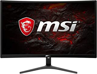 "MSI Full HD FreeSync Gaming Monitor 24"" Curved Non-Glare 1ms LED Wide Screen 1920 X 1080 75Hz Refresh Rate (Optix G241VC)"