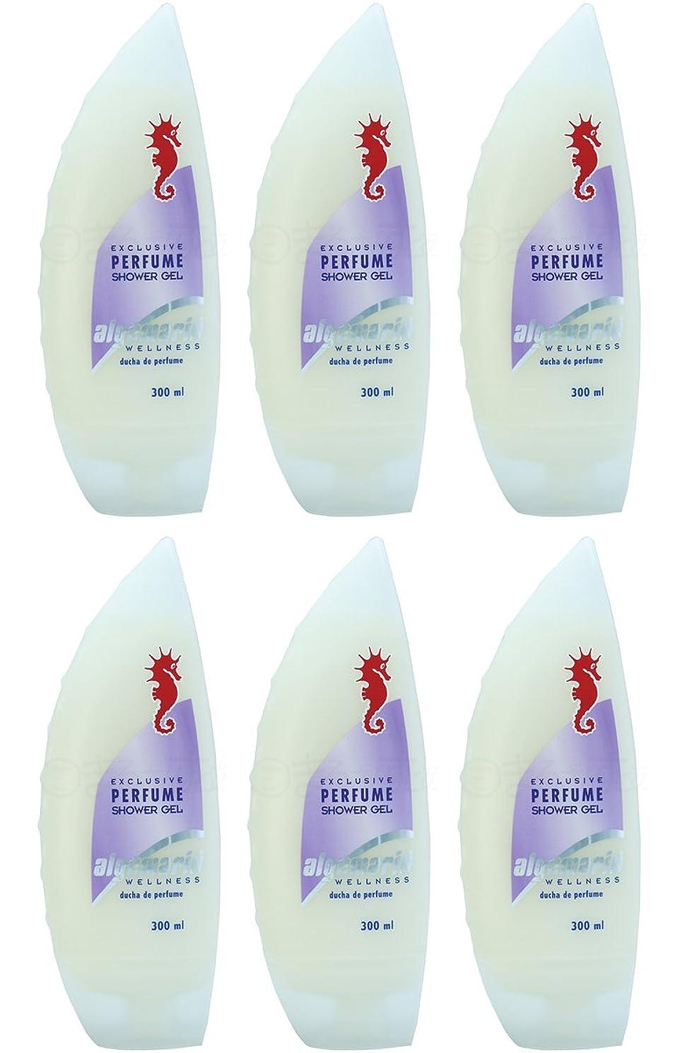 母性フォーマル告白アルゲマリンボディソープ パフューム香水入り300ml×6個