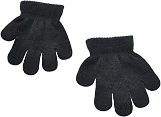 Toddler Boys and Girls Winter Knitted Writing Gloves, 1-3 Years Old