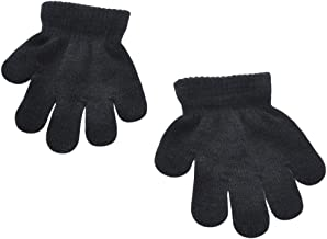 BaiX Toddler Boys and Girls Winter Knitted Writing Gloves, 1-3 Years Old