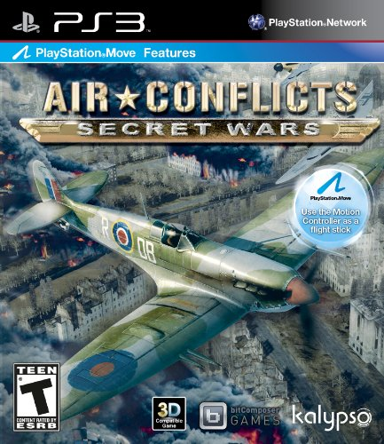 Air Conflicts Secret Wars PS3