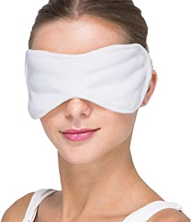 Cottonique Hypoallergenic Sleep Eye Mask Made from 100% Organic Cotton