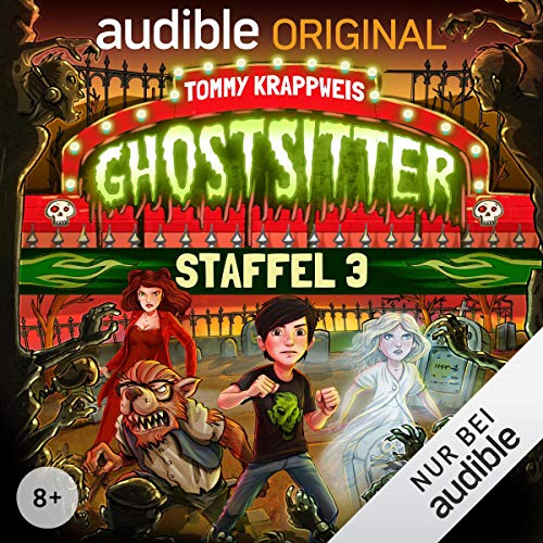 Ghostsitter: Die komplette 3. Staffel audiobook cover art