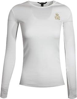 Ralph Lauren Women's Crewneck Long Sleeve Cotton RLL Crest Logo